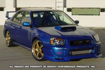 GReddy Subaru STI Front lip spoiler - 17060023 - Modern Automotive Performance