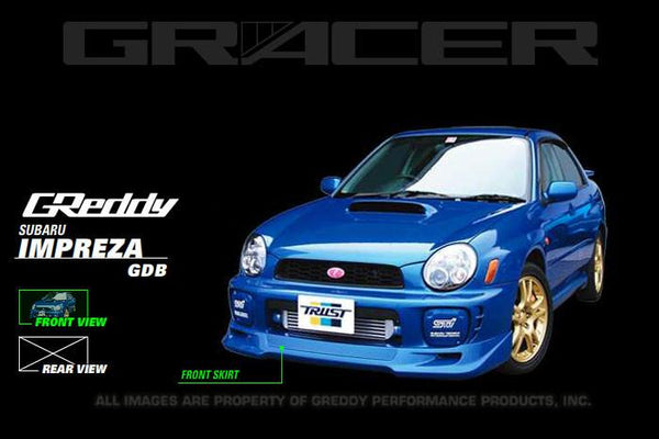 GReddy Subaru Impreza WRX Front lip spoiler - 17060052 - Modern Automotive Performance
