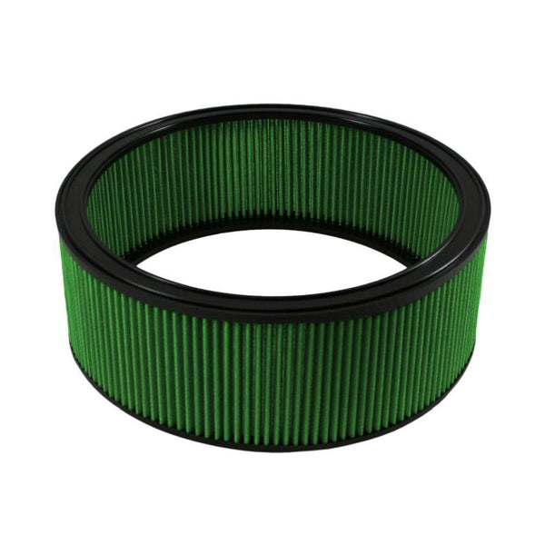 "Green Filter Round Air Filter - 14.00"" OD / 12.00"" ID / 5.00"" Height (2071)"