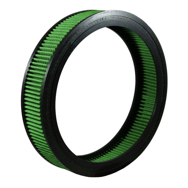 "Green Filter Round Air Filter - 12.00"" OD / 9.81"" ID / 2.50"" Height (2073)"