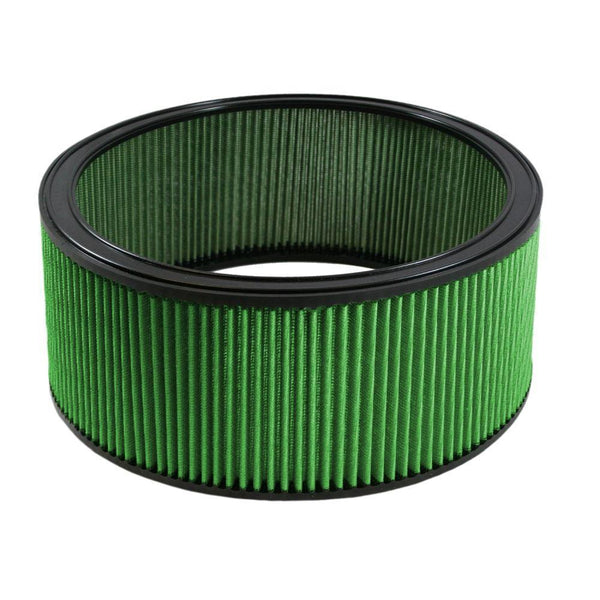 "Green Filter Round Air Filter - 14.00"" OD / 12.00"" ID / 6.00"" Height (2160)"