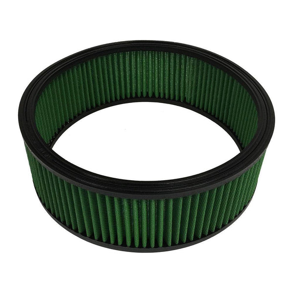 "Green Filter Round Air Filter - 14.00"" OD / 12.40"" ID / 4.50"" Height (2351)"
