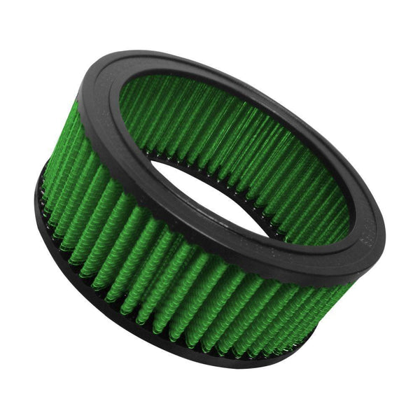 "Green Filter Round Air Filter - 6.33"" OD / 4.96"" ID / 2.48"" Height (2440)"