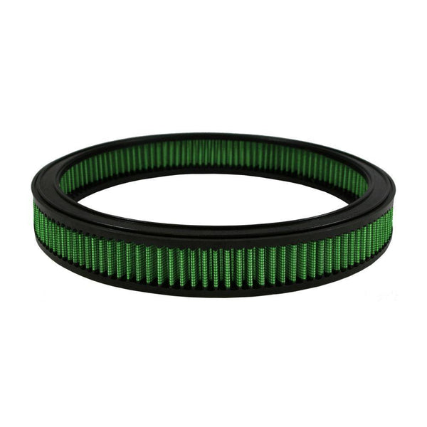 "Green Filter Round Air Filter - 14.00"" OD / 12.38"" ID / 2.00"" Height (2453)"