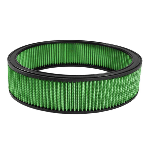 "Green Filter Round Air Filter - 14.00"" OD / 12.00"" ID / 3.50"" Height (7043)"
