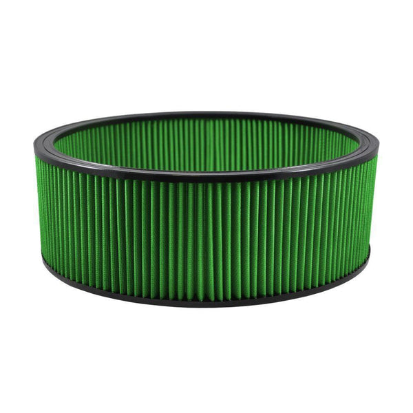 "Green Filter Round Air Filter - 16.25"" OD / 14.50"" ID / 7.00"" Height (7113)"