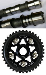 GSC Power-Division S2 Camshafts and AEM Tru-Time Cam Gear Combo | 2006 Mitsubishi Evo 9 MIVEC