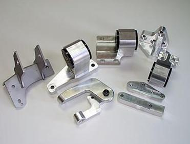 Hasport 88-91 Honda Civic and CRX H-Series Swap Billet Engine Mount Kit - Modern Automotive Performance