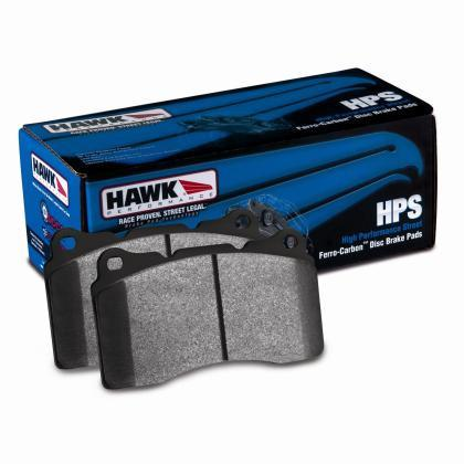 Hawk Performance Ceramic Street Rear Brake Pads (2010 Camaro SS)  HB194Z.570 - Modern Automotive Performance