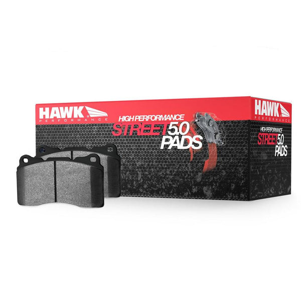 Hawk Performance HPS 5.0 Front Brake Pads | Multiple Fitments (HB538B.760)