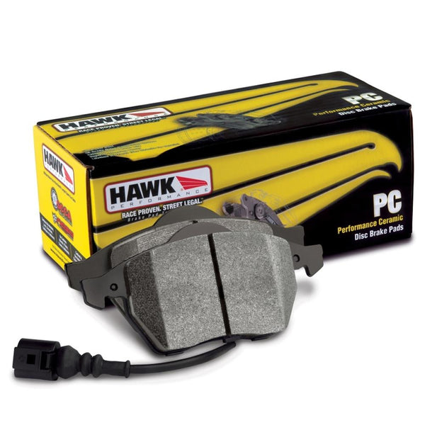 Hawk Performance Ceramic Street Front Brake Pads | 2018-2019 Audi S5 (HB865Z.620)
