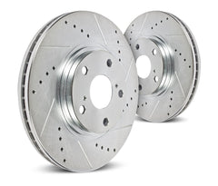 Hawk Sector 27 Rear Rotors | 2013-2016 Scion FR-S / Subaru BRZ (HR5018)