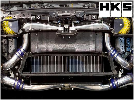HKS INTERCOOLER KIT WITH CARBON AIR DUCT (Nissan R35 GTR) - Modern Automotive Performance
