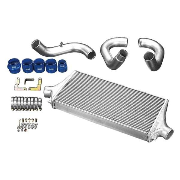 HKS R-Type Front Mount Intercooler Kit | 2003-2005 Mitsubishi Evo VIII (13001-BM001)