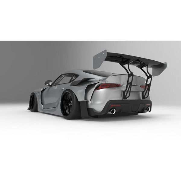 HKS FRP GT Wing Spoiler | 2020-2021 Toyota GR Supra A90 (53004-AT013)