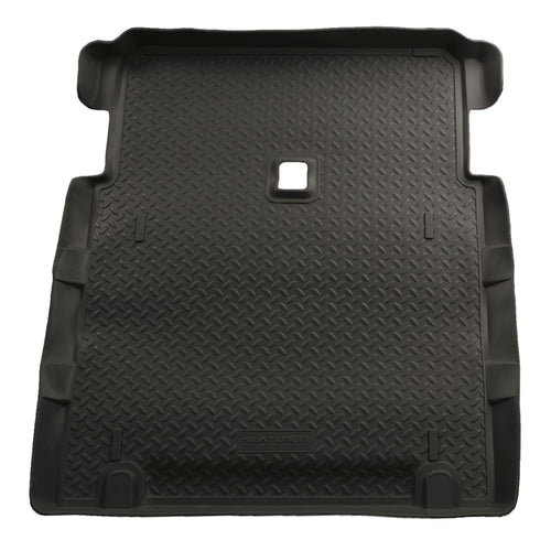 2004-2006 Jeep Wrangler Unlimited Classic Style Black Rear Cargo Liner by Husky Liners (21771) - Modern Automotive Performance