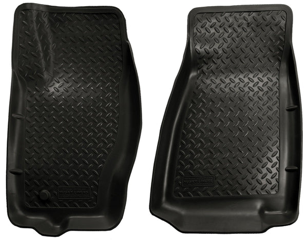 2005-2010 Jeep Grand Cherokee/Commander Classic Style Black Floor Liners by Husky Liners (30611) - Modern Automotive Performance