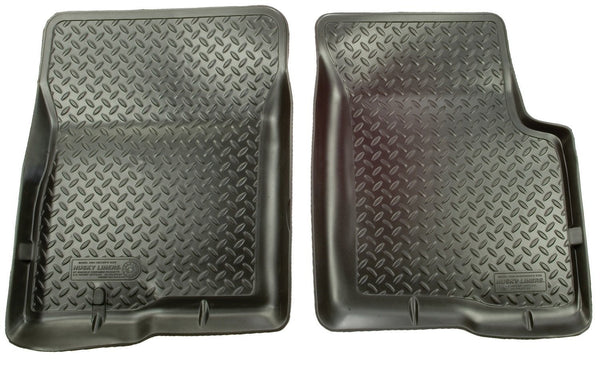 1990-1995 Toyota 4Runner (4DR)/Truck (Not T100) Classic Style Black Floor Liners by Husky Liners (35001) - Modern Automotive Performance