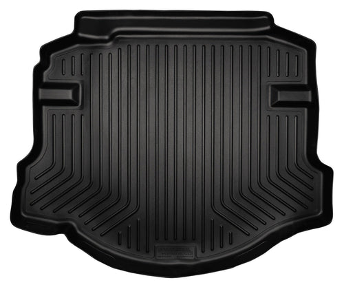2006-2011 Honda Civic (4DR/Non-Hybrid) WeatherBeater Black Trunk Liner by Husky Liners (44011) - Modern Automotive Performance