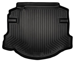 2006-2011 Honda Civic (4DR/Non-Hybrid) WeatherBeater Black Trunk Liner by Husky Liners (44011)