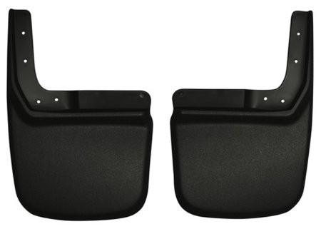 2007-2012 Jeep Wrangler (Base/Unlimited) Custom-Molded Rear Mud Guards by Husky Liners (57141) - Modern Automotive Performance