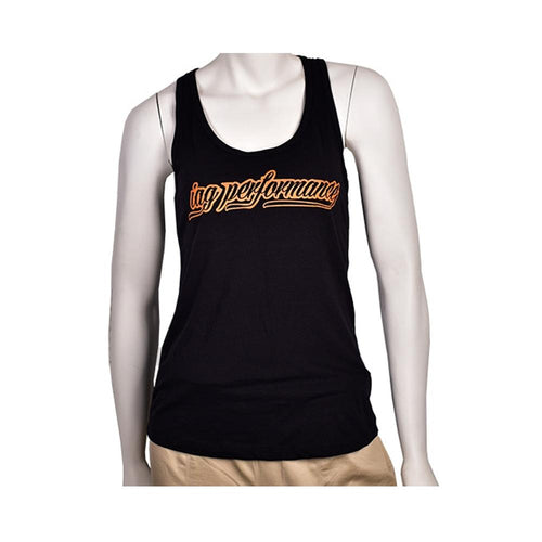 IAG Performance Women's Black & Orange Tank Top (IAG-APP-1005)