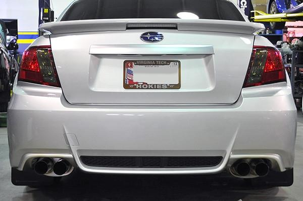 IAG RockBlocker Smoked Reverse Light Overlay Film Kit | 2008-2014 Subaru WRX/STI Sedan (IAG-BDY-2008)