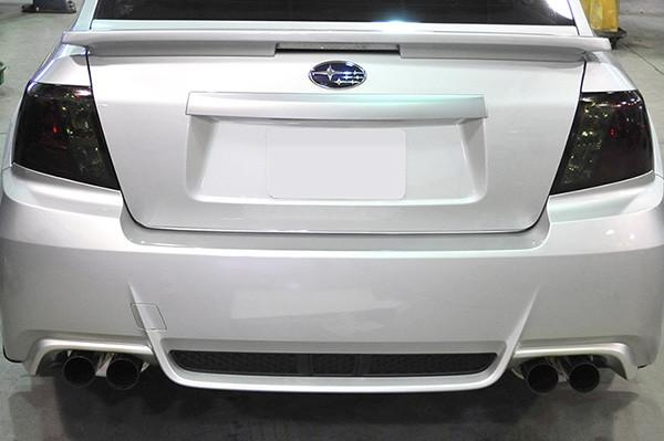 IAG RockBlocker Smoked Tail Light Overlay Film Kit | 2008-2014 Subaru WRX/STI Sedan (IAG-BDY-2009)