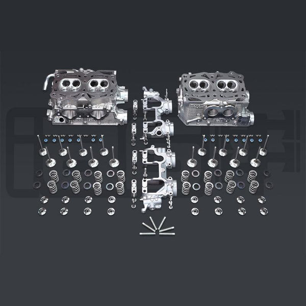 IAG Stage 2 Pocket Ported Cylinder Head Package | 06-14 Subaru WRX / 06-13 FXT / 07-09 LGT