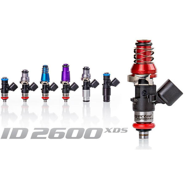 Injector Dynamics ID2600-XDS Injectors | 2003-2011 Mazda RX-8 Secondaries (2600.60.11.D.2)