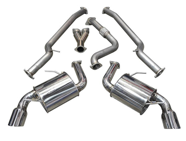 Injen Stainless Steel Cat-Back Exhaust | 2016-2017 Chevrolet Camaro 2.0T (SES7300)