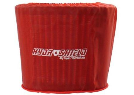 "Universal Red Water Repellant Pre-Filter 5"" Base/5"" Tall/4"" Top by Injen (X-1035RED) - Modern Automotive Performance"