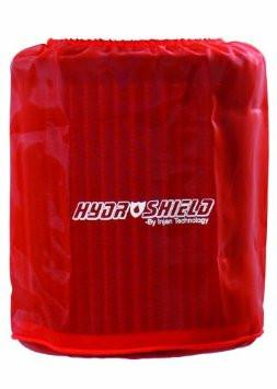"Universal Red Water Repellant Pre-Filter 6-1/2"" Base / 8"" Tall / 5-1/2"" Top by Injen (X-1038RED) - Modern Automotive Performance"