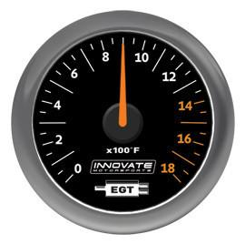 Innovate Motorsports MTX-A Exhaust Gas Temperature (EGT) Gauge Kit (3865)