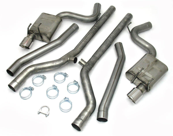 JBA Headers Stainless Cat Back Exhaust Systems (2010+ Gm Camaro) - Modern Automotive Performance