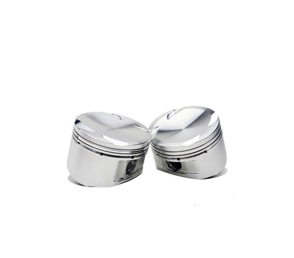JE Pistons 81.5mm 8.0:1/9.0:1 CR | Multiple Honda/Acura B-Series Fitments (302502) - Modern Automotive Performance