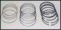 JE Piston Rings - Honda Civic Rings for JE 185918, 185920, 185922 - Modern Automotive Performance