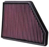 K&N High Performance Drop-in Air Filter (2010 Camaro) - Modern Automotive Performance