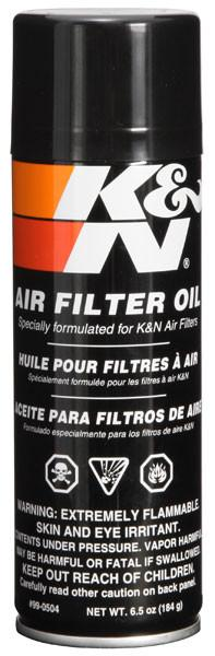 Air Filter Oil - 6.5oz- Aerosol by K&N (99-0504) - Modern Automotive Performance
