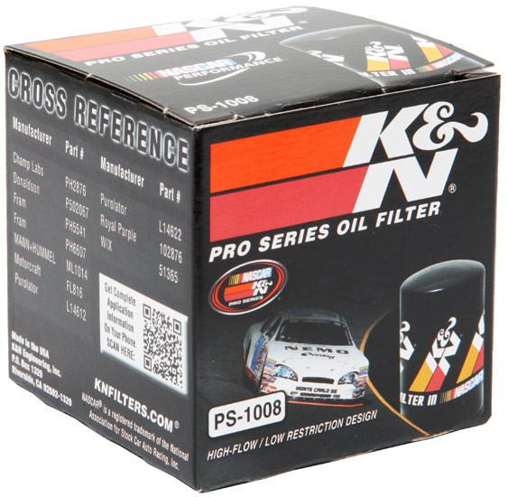 K&N Pro Series Oil Filter | Multiple Fitments (PS-1008)