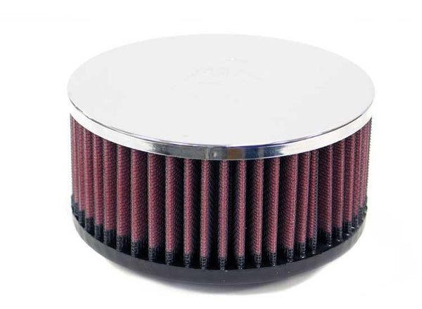 Universal Chrome Filter by K&N (RC-0650) - Modern Automotive Performance