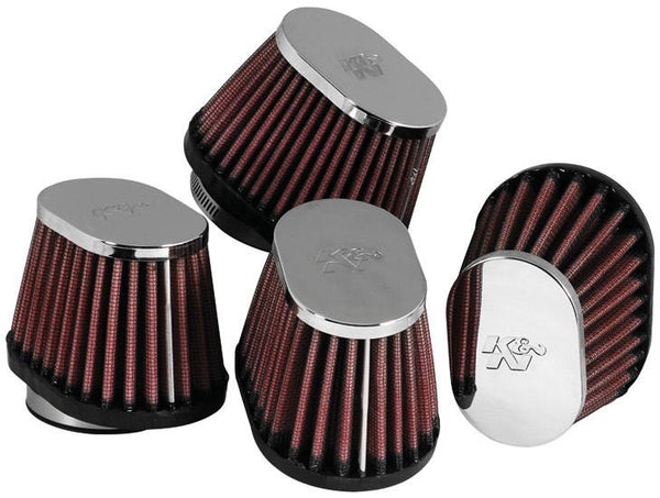 Universal Chrome Filter by K&N (RC-1824) - Modern Automotive Performance