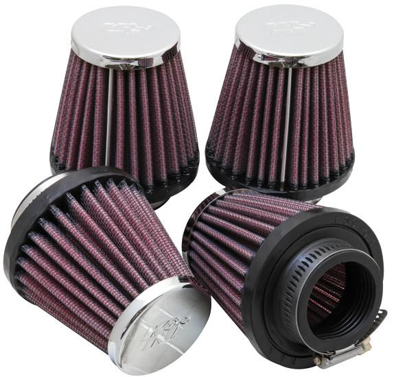 Universal Chrome Filter by K&N (RC-2314) - Modern Automotive Performance