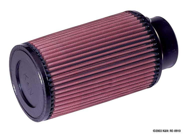 Universal Rubber Filter by K&N (RE-0910) - Modern Automotive Performance