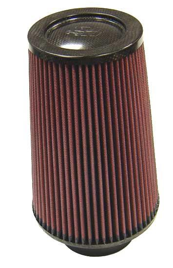 Universal Air Filter - Carbon Fiber Top by K&N (RP-5118) - Modern Automotive Performance