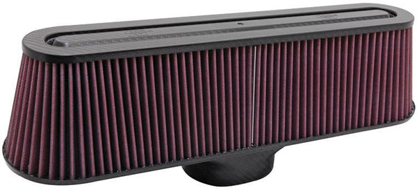 Universal Air Filter - Carbon Fiber Top and Base by K&N (RP-5135) - Modern Automotive Performance