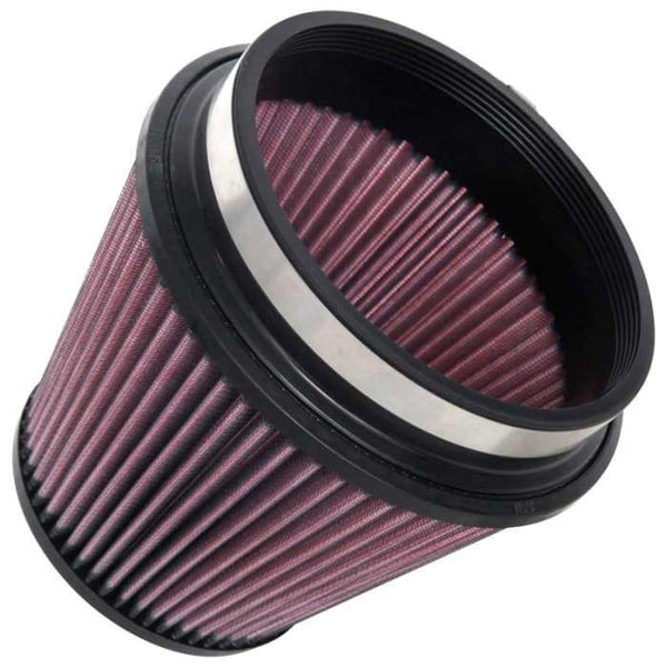 "K&N Clamp-On Air Filter - 6"" Flange / 7.5"" Base / 5"" Top / 6"" Height (RU-1036)"