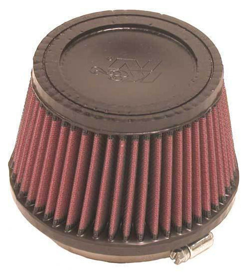 "K&N Clamp-On Air Filter - 4.0"" Flange ID / 5.375"" Base OD / 3.5"" Height (RU-2510)"