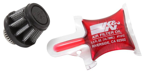 Universal Rubber Filter by K&N (RU-3490) - Modern Automotive Performance