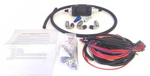 K27 255 In-Line Fuel Pump Kit (Evo X) - Modern Automotive Performance